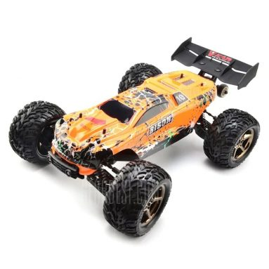 $229 with coupon for VKAR RACING BISON V2 Brushless RC Truck- RTR  –  WITH HOBBYWING MXA10 RTR 120A ESC  ORANGE from GearBest