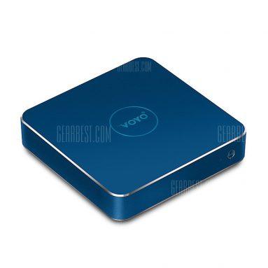 $ 176 với phiếu giảm giá cho VOYO V1 Mini PC Intel Celeron N3450 - EU CẮM + 4G RAM + 32G EMMC + 128G SSD ROM BLUE từ Gearbest