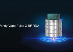 $23 with coupon for Vandy Vape Pulse X BF RDA – SILVER from GearBest