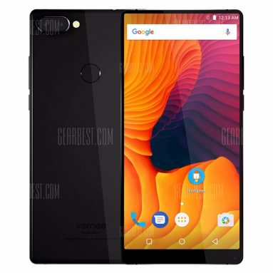 $119 with coupon for Vernee Mix 2 4G Phablet  –  BLACK from GearBest