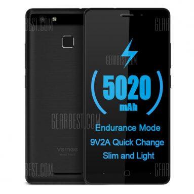 Vernee Thor E 99G Smartphone için kuponlu $ 4 - GearBest'ten BLACK
