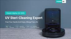 €419 na may kupon para sa Viomi Alpha UV S9 UV 2700Pa Strong Suction Robot Vacuum Cleaner na May Dust Collection at UV Steri-Cleaning Function mula sa EU warehouse GEEKMAXI