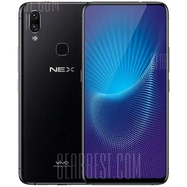 $599 with coupon for Vivo NEX 6GB RAM 128GB ROM 4G Phablet – BLACK from GearBest