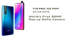 VIVO V15 Pro Poster Shows Pop-up 32MP Selfie Camera
