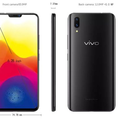 $499 with coupon for Vivo X21 4G Phablet from GearBest