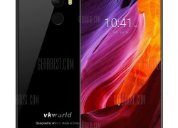 $119 with coupon for Vkworld Mix Plus 4G Phablet  – Black from GearBest