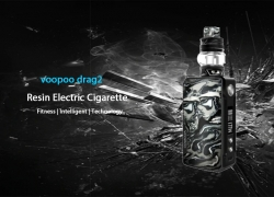 $58 with coupon for Voopoo Drag2 Resin Version Mod Kit – BLACK from GearBest