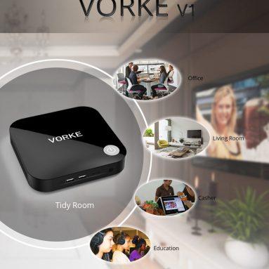 Geekbuying에서 Vorke V43을위한 $ 1 쿠폰