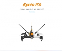 Walkera Rodeo 150 Racing 3D Edition RC Quadcopter BNF (Mit 600TVL Kamera/OSD/Batterie/Ladegerät) from Hobbywow
