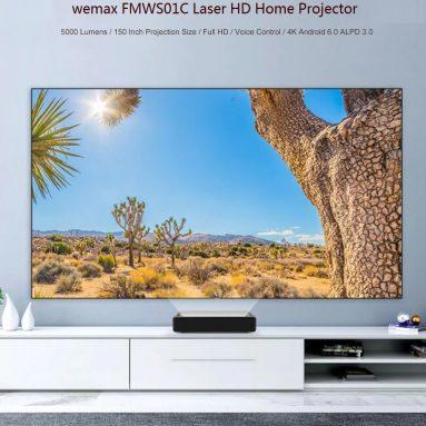 $ 1389 s kuponom za kućni projektor WEMAX FMWS01C Laser HD (Xiaomi Ekosustavni proizvod) od tvrtke GEARBEST