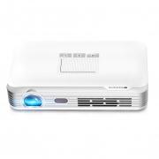 € 365 con cupón para el proyector de video WOWOTO T8E 2000 Lumens DLP 3D - BLANCO de GearBest