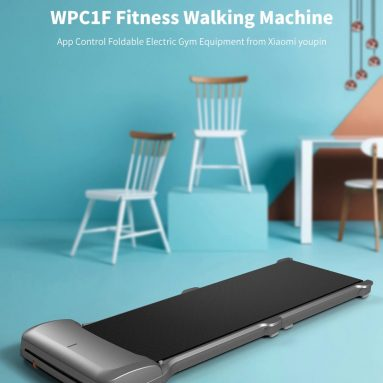 €319 with coupon for Xiaomi WalkingPad C1 Smart APP Control Folding Walking Pad Mini Ultra-thin Walking Machine Outdoor Indoor Gym Electrical Gym Fitness Equipment from BANGGOOD