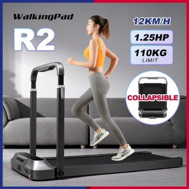 €552 with coupon for WalkingPad R2 Treadmill LCD Display bluetooth Folding Walking Pad Home Fitness Equipment from EU CZ warehouse BANGGOOD