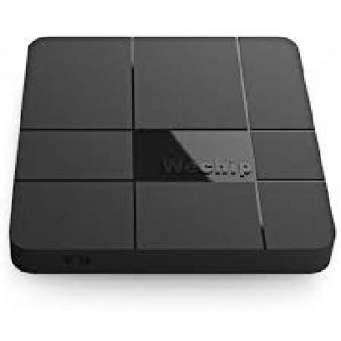 €53 with coupon for Wechip V8 MAX TV Box 4GB RAM + 64GB ROM – BLACK EU PLUG  from GearBest
