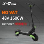843 € cu cupon pentru [EU Direct] Scooter electric X-Tron X08 1600W Dual Motor 48V 19.2Ah 8.5 Inch Scooter electric 50km / h Viteză maximă 50Km Kilometraj 150Kg Scooter electric din depozitul EU CZ BANGGOOD