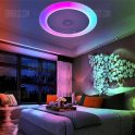 $89 flashsale for X816Y – 48W – LY – YXAA Music Color Changing Ceiling Light, Smart Bluetooth APP AC 220V  –  WHITE from GearBest