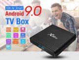 € 32 X96 एयर स्मार्ट एंड्रॉइड 9.0 टीवी बॉक्स के लिए कूपन के साथ - ब्लैक 4GB RAM + 32GB ROM EU प्लग-इन GEARBEST