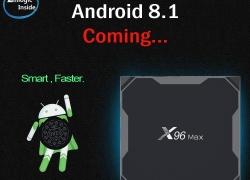 $ 47 s kupónom pre X96 MAX TV Box 4GB RAM 32GB ROM od GEARVITA