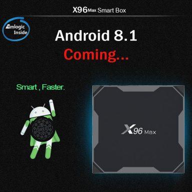 $ 47 với phiếu giảm giá cho X96 MAX TV Box 4GB RAM 32GB ROM từ GEARVITA