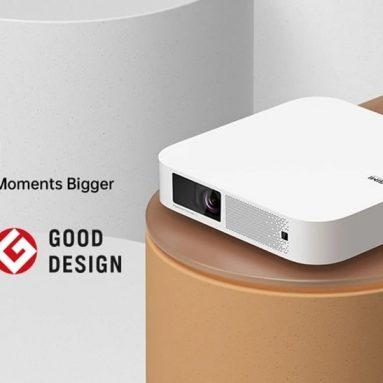 742 EUR s kupónem na projektor XGIMI Elfin Android TV 10.0 OS Asistent Google Automatické zaostřování Mini přenosný projektor 1080P 800 ANSI lumenů HDMI 2.0 2+16 GB bluetooth 5.0 pro projektor domácího kina od BANGGOOD