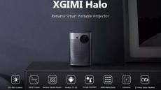 € 634 con cupón para XGIMI Halo DLP Proyector 1080P Soporte 4K Resolución 2GB 16GB Android 9.0 17100mAh Batería Asistente de Google Proyector de cine en casa del almacén EU CZ ES BANGGOOD