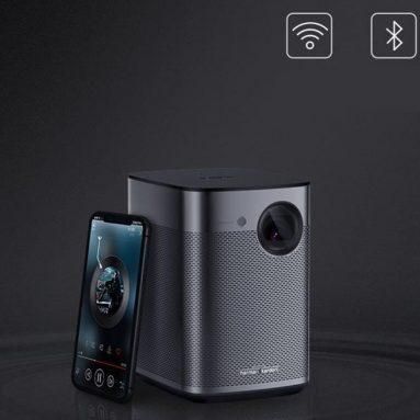 € 546 XGIMI Oynamak için kupon ile X DLP Projektör Taşınabilir 2G + 8G BANGGOOD gelen Wifi Ev Akıllı Mini Ekransız TV Projektörü