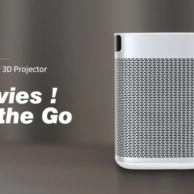 249 يورو مع كوبون لـ XIAOMI Ecosystem XGIMI XJ03W MOGO DLP Projector High Brightness Support 4K Resolution 2GB 16GB Android 9.0 10400mAh Battery Google Assistant Home Theatre Projector EU CZ / HK WAREHOUSE من BANGGOOD