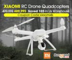 Only $489.99 for Xiaomi Mi Drone WIFI FPV With 4K 30fps & 1080P Camera 3-Axis Gimbal RC Drone Quadcopter from BANGGOOD TECHNOLOGY CO., LIMITED