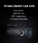 € 26 med kupon til XIAOMI 70MAI Smart Car DVR EU US Version fra BANGGOOD