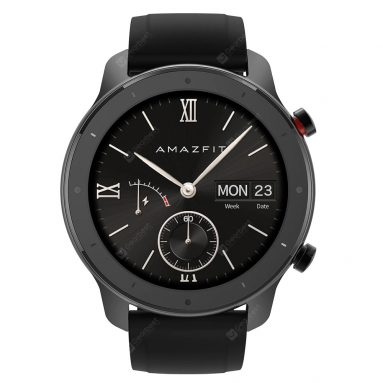 $99 with coupon for XIAOMI Amazfit GTR Lite 47mm Smartwatch International Version (free GIFT) from GEARBEST
