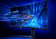 € 494 mit Gutschein für Original XIAOMI Curved Gaming Monitor 34-Zoll 21: 9 Bring Fish Screen 144Hz Hohe Bildwiederholfrequenz 1500R-Krümmung WQHD 3440 * 1440-Auflösung 121% sRGB Wide Color Gamut Free-Sync Technology Display von BANGGOOD