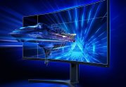 €430 with coupon for Original XIAOMI Curved Gaming Monitor 34-Inch 21:9 Bring Fish Screen 144Hz High Refresh Rate 1500R Curvature WQHD 3440*1440 Resolution 121% sRGB Wide Color Gamut Free-Sync Technology Display from BANGGOOD