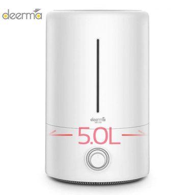 € 29 con coupon per XIAOMI Deerma DEM-F628 5L Umidificatore d'aria Mute ultrasuoni Aroma Diffusore Domestico Nebbia Maker Fogger Purificante Umidificatore Olio da BANGGOOD