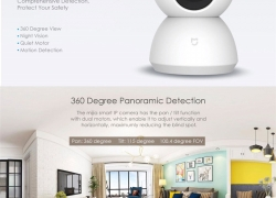 € 31 med kupon til XIAOMI MIJIA 360 Grad 1080P Nat Vision IR kamera Bevægelsesdetektion Tovejs Audio Pan Tilt IP-kamera fra BANGGOOD