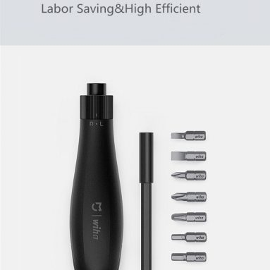 €14 with coupon for XIAOMI MIJIA Wiha 8 In 1 Ratchet Screwdriver Popup Design Household Screw Driver Repair Tool from BANGGOOD