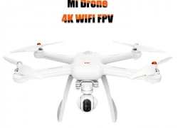 $469 with coupon for XIAOMI Mi Drone 4K UHD WiFi FPV Quadcopter  –  CN PLUG  WHITE from GearBest