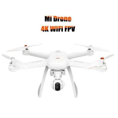 € 425 với phiếu giảm giá cho Xiaomi Mi Drone WIFI FPV Với 4K 30fps & 1080P Máy ảnh 3-Axis Gimbal RC Bay không người lái Quadcopter - 4K từ BANGGOOD