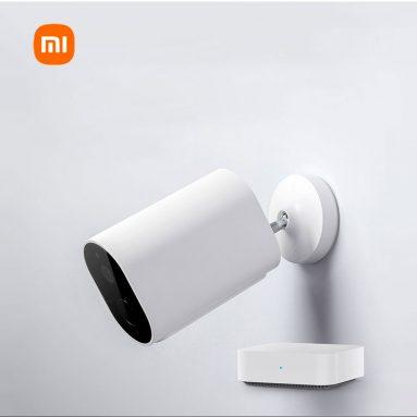 €55 यूरोपीय संघ के गोदाम GSHOPPER . से XIAOMI Mi वायरलेस आउटडोर सुरक्षा कैमरा 1080p के लिए कूपन के साथ