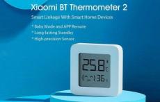 3 € s kuponom za [najnoviju verziju] XIAOMI Mijia Bluetooth termometar 2 Bežični pametni električni digitalni higrometar termometar 1kom Rad s Mijia APP-om iz tvrtke BANGGOOD