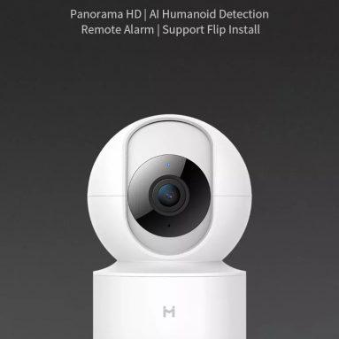 € 22 עם קופון עבור XIAOMI Mijia H.265 1080P 360P לילה גרסה Smart AI מצלמת IP בית צג התינוק פאן הטיה מצלמת מ BangGOOD