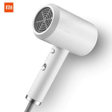 € 41 עם קופון עבור XIAOMI Mijia נייד מים יון חשמלי שיער מייבש יבש מהיר 1800W מ בנגוד