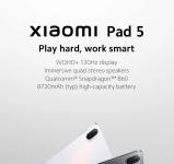 299 € con cupón para Tablet Xiaomi Pad 5 GLOBAL Versión 6 / 128GB del almacén EU ESPAÑA GOBOO