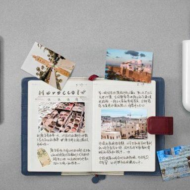 € 54 עם קופון למדפסת צילום XIAOMI Pocket 3 אינץ 300dpi AR ZINK מדפסת תמונות מיני ללא דיו חיבור Bluetooth מ- BANGGOOD