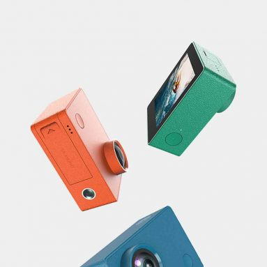 €72 with coupon for Xiaomi Mijia YOUPIN Seabird 4K 30fps Sport Camera Sony Sensor WIFI Action Cam Support SDIO3.0 – Orange from BANGGOOD