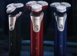 € 34 med kupon til XIAOMI SOOCAS LINGLANG S3 Elektrisk barbermaskin Trådløs USB opladning 3 Kutterhoved Glatfiner Vandtæt barbermaskin Razor fra BANGGOOD