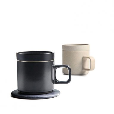 €26 with coupon for XIAOMI VH Wireless Charging 55 °C Thermos Cup Electric Cup Coffee Cup Japanese Style Mugs Ceramics Coffee Mug With Saucer Drinkware Set – Coffee from BANGGOOD