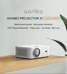 83 евро с купоном на [Глобальная версия] Телефон-проектор XIAOMI Wanbo X1 с таким же экраном 1080P Поддерживается беспроводная проекция 300 ANSI люменов Домашний кинотеатр с защитой от пыли На открытом воздухе Фильм от BANGGOOD