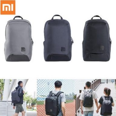 $35 with coupon for XIAOMI Waterproof Backpack Classic Business Backpacks 23L Capacity Cooling Decompression Students Laptop Bag Men Women Travel Bags For 15-inch Laptop from BANGGOOD