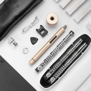 €40 with coupon for XIAOMI Wowstick 1+ Precision Electric Screwdriver Set Cordless Chargeable DIY Repair Tools Kit from BANGGOOD