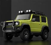 € 70 dengan kupon untuk XIAOMI XMYKC01CM untuk Suzuki Jimny Sierra Yellow Intelligent 1:16 Proportional 4WD Rock Crawler App Control RC Model Kendaraan Mobil dari BANGGOOD